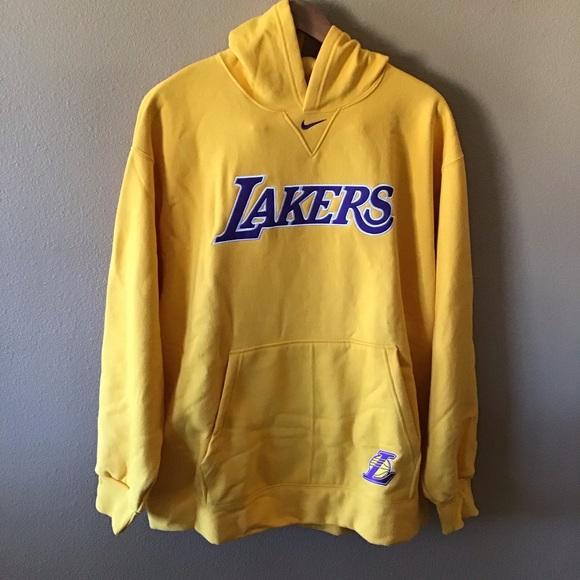 new styles f12b4 be2b2 Los Angeles Lakers Nike NBA Hoodie NWT